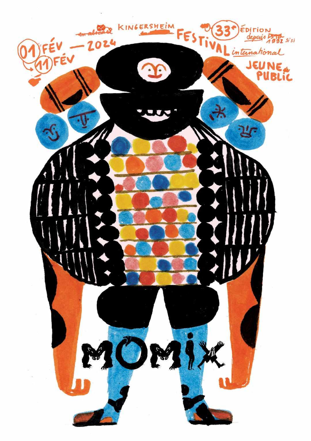 Affiche MOMIX